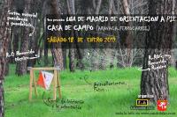 Liga FEMADO O-Pie 2020: Casa de Campo-Aravaca ferrocarril